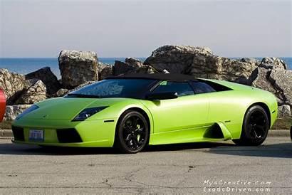 Lamborghini Murcielago Supercars Vert Roadster Coupe Cars