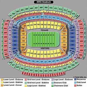 Nrg Stadium Seat Chart Nrg Stadium Houston Tickets