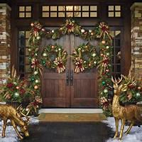 front door decorating ideas Christmas Front Door Decorations - Quiet Corner