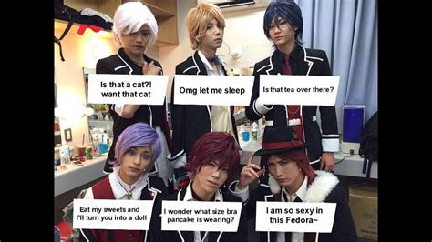 Meme Lovers - diabolik lovers on stage meme by mewnadjaxjackfrost on deviantart