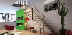 Garde De Corps Escalier : escalier et garde corps pour votre logement les mat riaux ~ Melissatoandfro.com Idées de Décoration