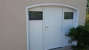 replacement porte garage en porte entree alu a lyon With porte garage lyon