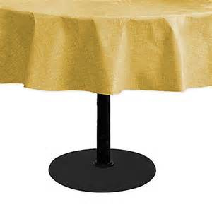 buy monterey 60 inch x 84 inch oblong umbrella vinyl tablecloth in yellow from bed bath beyond