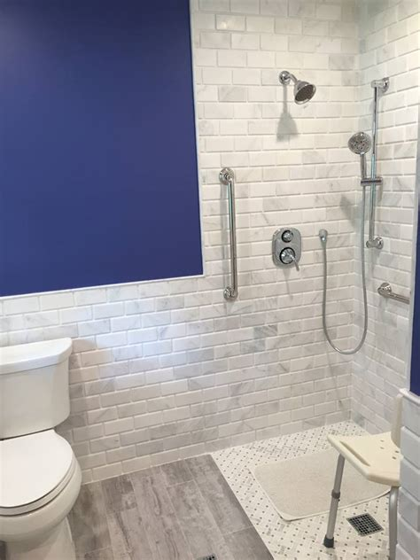 beveled marble subway tile design build planners
