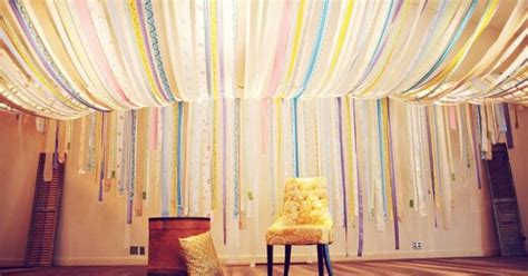 streamer ceiling kitschy cute and diy pinterest