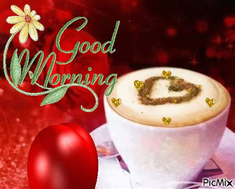 Here's for you the best good morning sweetheart gif for your loved ones. Heart Coffee Good Morning Gif Pictures, Photos, and Images for Facebook, Tumblr, Pinterest, and ...