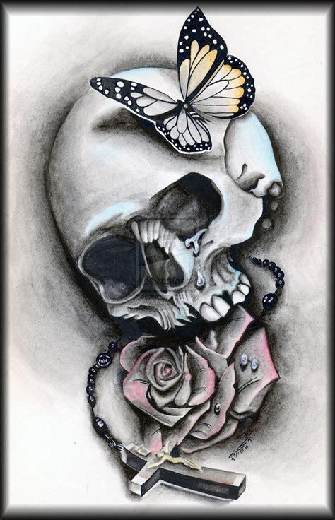 images  tattoo ideas gh  pinterest skull rose tattoos cool tattoos  horror