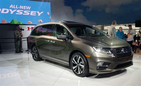 2018 Honda Odyssey Detroit Auto Show