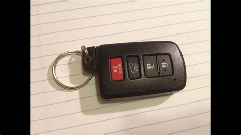 diy   change replace smartkey keyfob battery