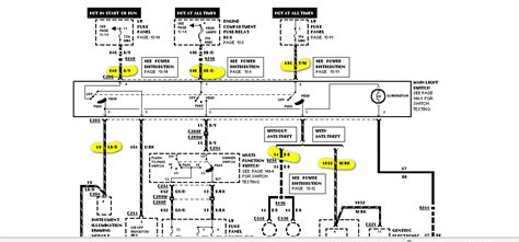 1997 ford wiring diagram wiring diagram and