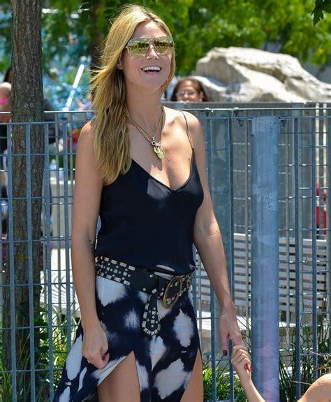 Heidi Klum Lets The Ladies Hang Free Public Cool