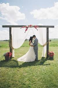 family farm wedding in pink and gray wedding flower and With simple wedding ceremony ideas