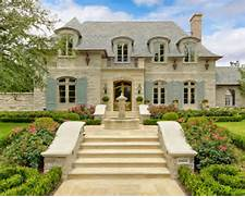 Country House Facade Design French Country House Facade Arched Windows Cut Into Roofline House