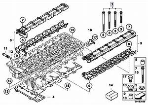 Original Parts For F01 740i N54 Sedan    Engine   Cylinder