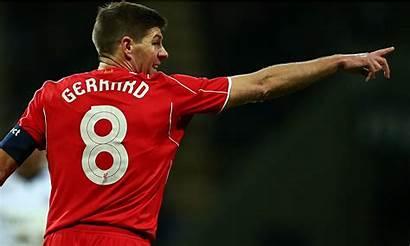 Gerrard Steven Liverpool Shirt Football Morning Monday