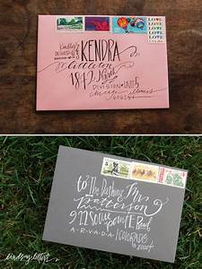 Super Cool Way To Address An Envelope Letters