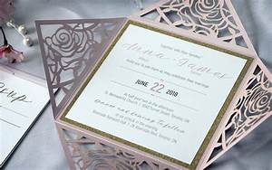 laser cut wedding invitations archives impressions With gold glitter wedding invitations canada