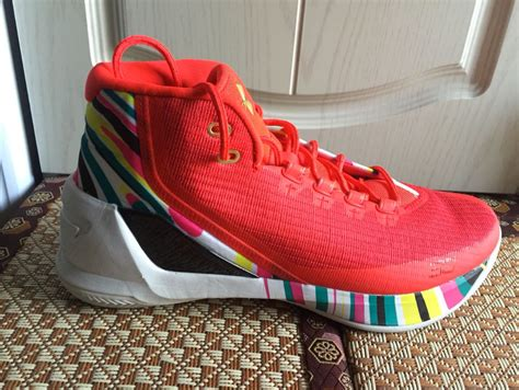 What Could Be The Under Armour Curry 3 'chinese New Year' Weartesters