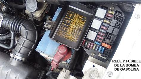 rel 233 y fusible de la bomba de gasolina
