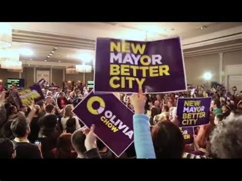 Olivia Chow for Mayor: Rally for a Better City - YouTube