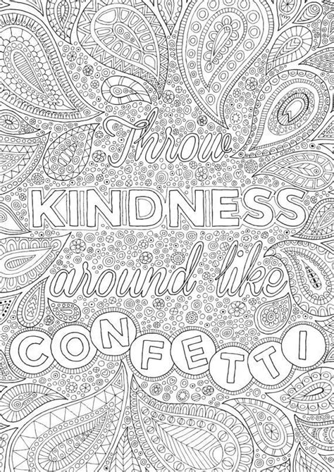 throw kindness   confetti colour