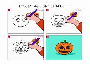 Comment Faire Une Citrouille Pour Halloween : apprendre dessiner une citrouille en 3 tapes ~ Voncanada.com Idées de Décoration