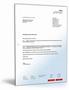 Fristgerechte Kündigung Mietvertrag : k ndigung rechtsschutzversicherung fristgem muster zum download ~ Watch28wear.com Haus und Dekorationen