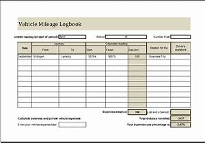 mileage log for taxes excel