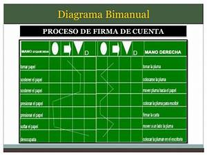 Diagramas Bimanuales De Ingenieria De Metodos