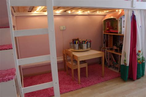 mydal loftbed with play area for 39 s room ikea hackers ikea hackers