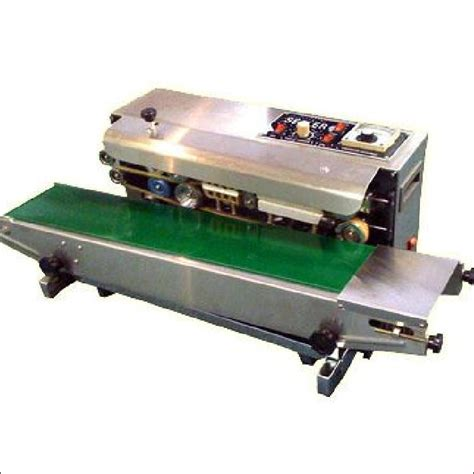 continuous band sealer model fr  commercial kitchen equipment carl dave global ventures