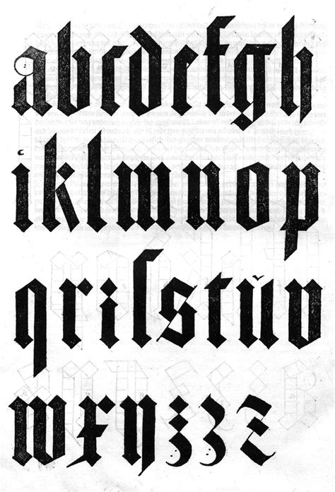 typography what s the clean blackletter font used in typographic designs by albrecht d 252 rer 13709