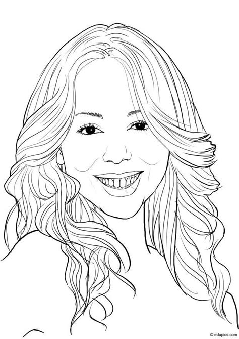 coloring page mariah carey  printable coloring pages