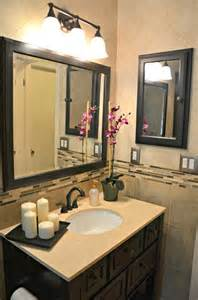 framed bathroom mirrors ideas bathroom with rubbed bronze accents contemporary bathroom dc metro by rjk