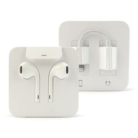 apple lightning connector headphones with aux adapter