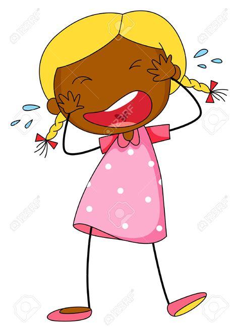 girl crying cartoon clipart    girl