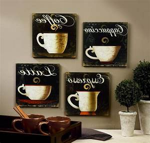 Y kitchen themes ideas kitchen patterns ideas kitchen for Kitchen cabinets lowes with metal wall art coffee theme