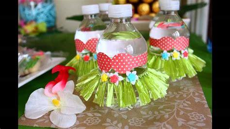 easy luau party decorating ideas youtube