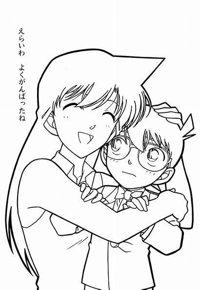 Detective Conan Coloring Anime Tranh Da Colorare