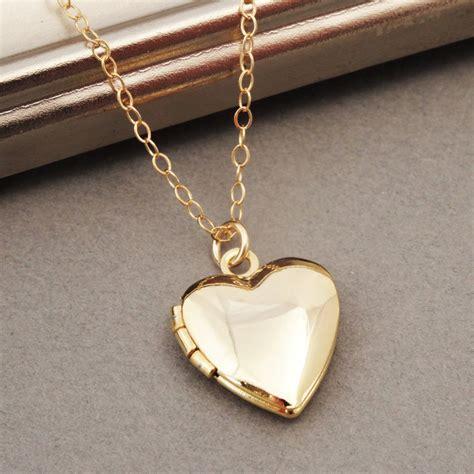 small jewelry box locket necklace gold locket tiny locket