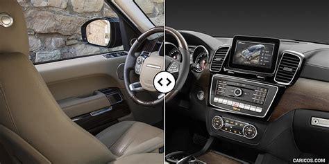 mercedes gls interior range rover vs mercedes benz gls