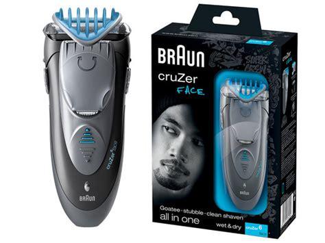 braun cruzer face beard trimmershaver internets offer