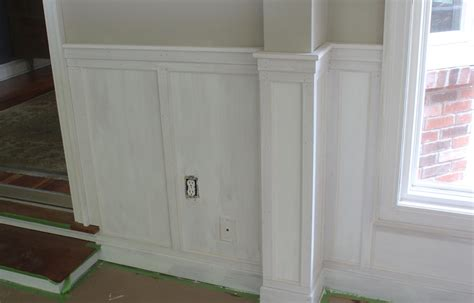 wainscoting installation tips how to install chair rail with flat panel wainscoting jon peters art home