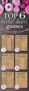 Top 6 bridal shower games fun rustic funny bridal for Wedding shower games ideas