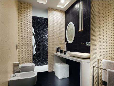 salle de bain mosaique beige carrelage de salle de bains original 90 photos inspirantes