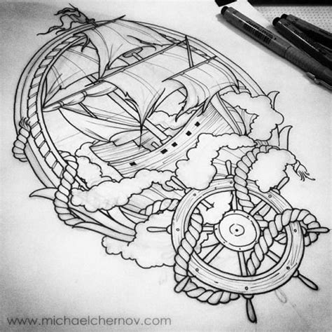 Boat Drawing Tattoo by 1000 Ideas About Ship Drawing On Pinterest Pirate Ship