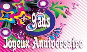 Carte Anniversaire Fille 9 Ans : carte anniversaire humour 9 ans fullcolor ~ Melissatoandfro.com Idées de Décoration