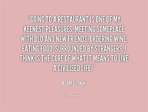Quotes About Restaurants Quotesgram