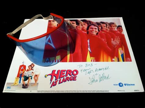 Hero At Large (1980) John Ritter Screen Worn Visor And