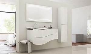 stunning armoire salle de bain leroy merlin photos With salle de bain design avec lavabo profondeur 40